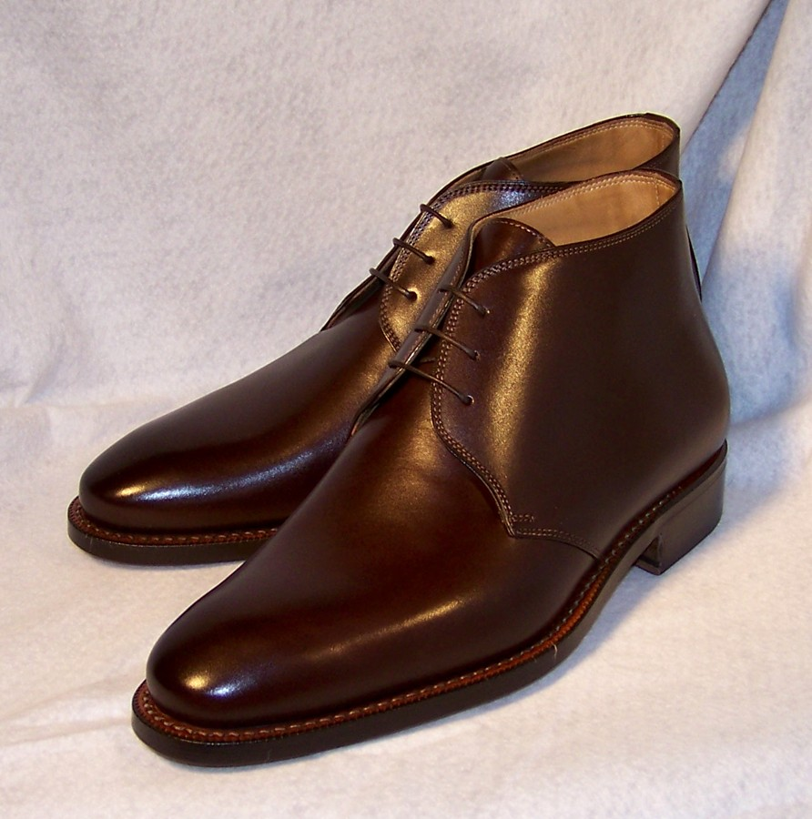 Chukka boots by Ron Rider Boot Co. | Styleforum