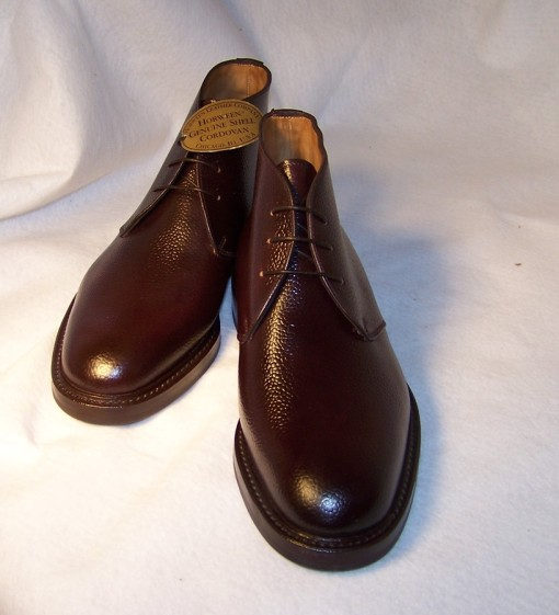 RBCB3 IN #8 SCOTCH GRAIN SHELL CORDOVAN