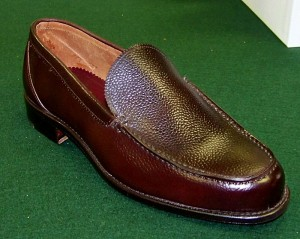 Venetian Loafer in #8 Scotch Shell Cordovan