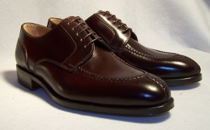 Split-toe Derby in #8 Shell Cordovan