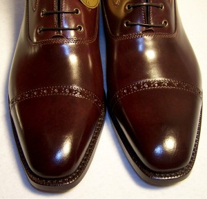 Balmoral Boot in #6 Shell Cordovan