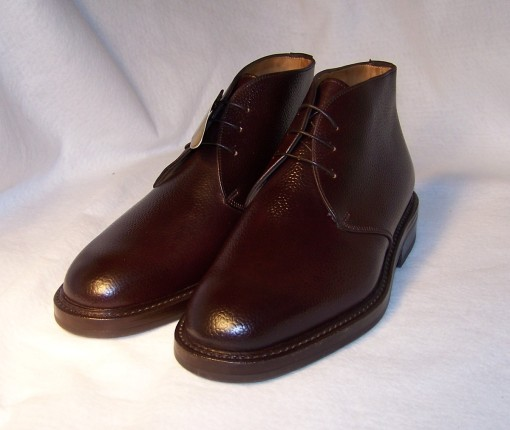 #8 Scotch Grain Shell Cordovnan Chukka