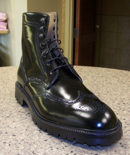 Wingtip Boot MTO PC