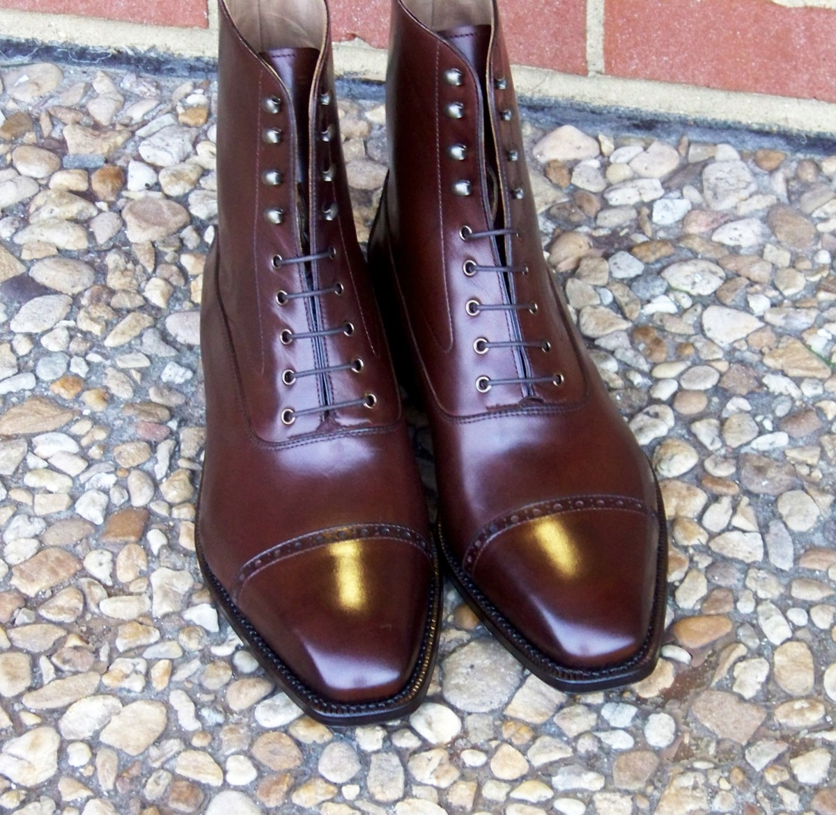 Allen Edmonds Balmoral Boot in the works   Page 5   Ask Andy